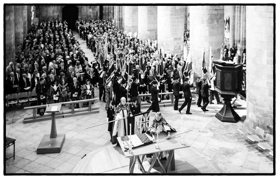 Gloucester Cathedral WW1 Commemoration Service